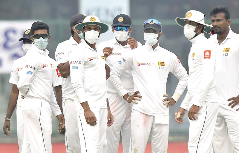 Impractical to play cricket in masks ?