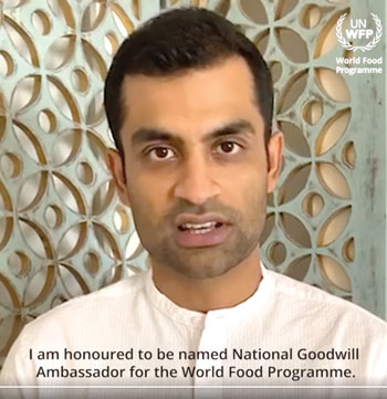 Tamim Iqbal expressing his feeling on his facebook live after named as the National Goodwill Ambassador of WFP on Monday. photo: screenshot