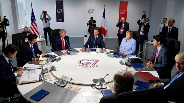 G7 leaders reject Russia's return after Trump summit invite