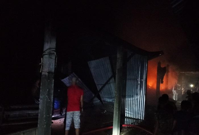 Shop, godown gutted in Mymensingh