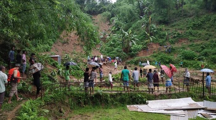 21 dead in rain-triggered landslides in India's Assam