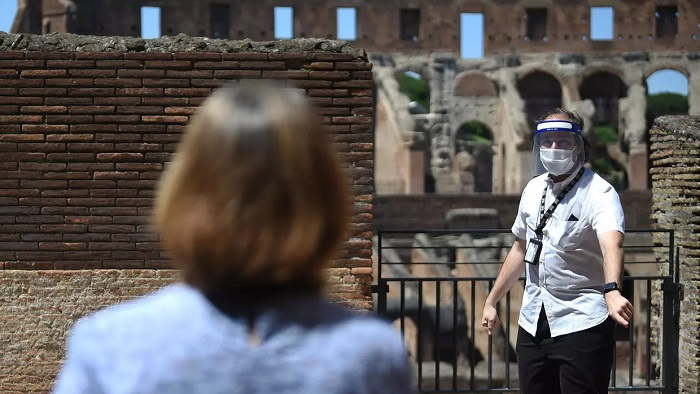 The first European country to be hit hard by the virus, Italy is once again opening up tourist attractions such as the Colosseum | AFP
