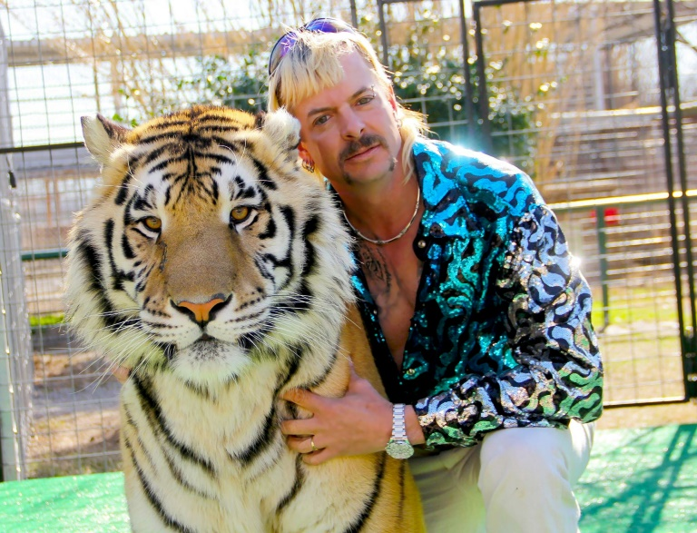 """""""Joe Exotic"""" captured the imagination of Netflix watchers as the star of the true-crime documentary """"Tiger King"""". Photo: AFP"""