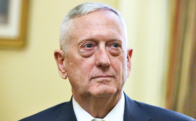 Trump trying to 'divide' America: ex-Pentagon chief Mattis