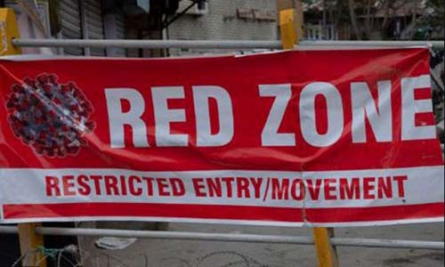 General holiday in red zones of 5 more dists