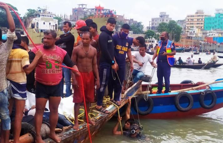 Death toll from Buriganga launch capsize rises to 26