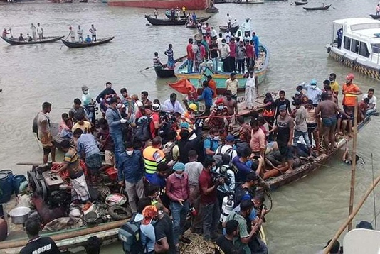 Buriganga launch capsize: Death toll climbs to 30
