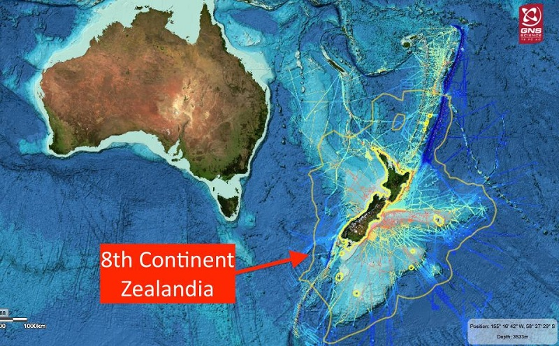 Lost continent of Zealandia. GNS Science
