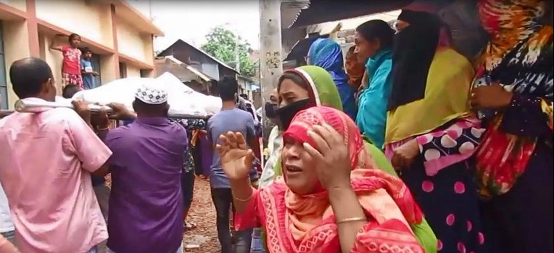 Munshiganj turns into grieving zone