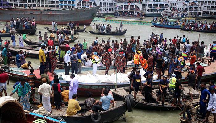 Witness testimony on Buriganga launch capsize Wednesday