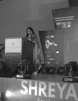 'Shreya: A lady who excels in every sector of her life'