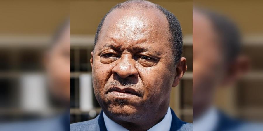 Zimbabwe's health minister Obediah Moyo. File photo: AFP