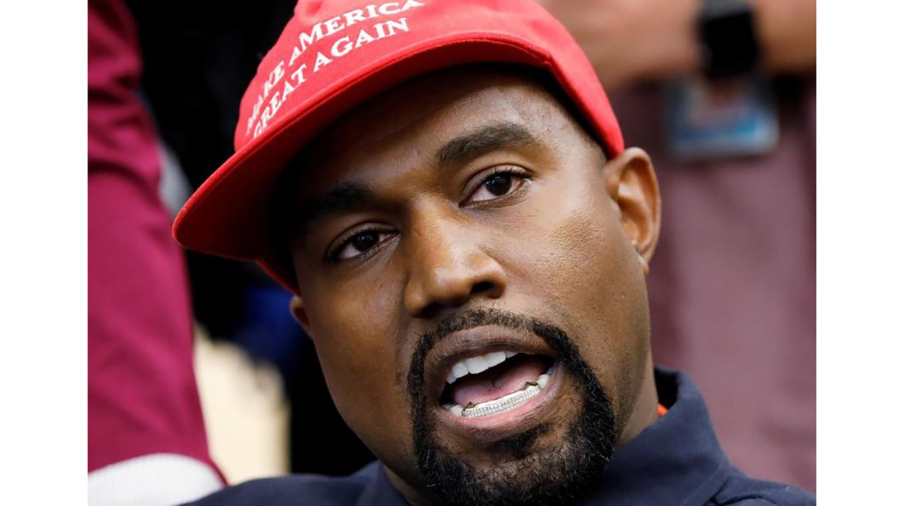 Rapper Kanye West speaks during a meeting with US President Donald Trump to discuss criminal justice reform in the Oval Office of the White House in Washington, US, on October 11, 2018. File photo: Reuters