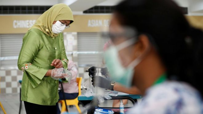 Singapore election held against backdrop of pandemic