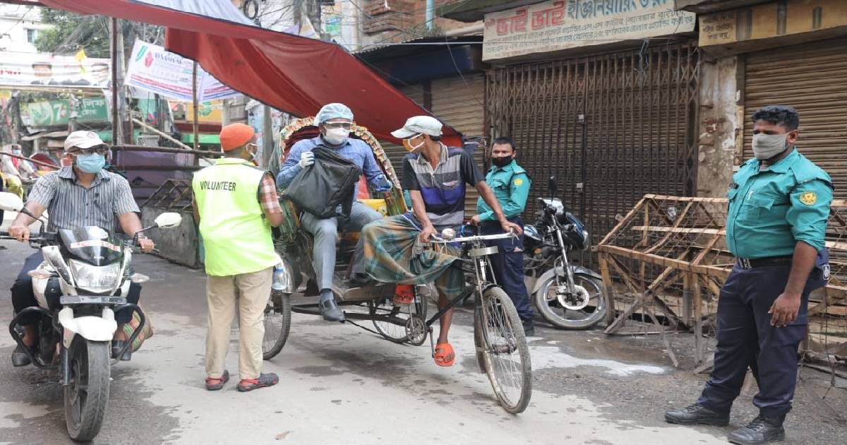 Bangladesh: 37 more die of COVID-19, 2,949 infected