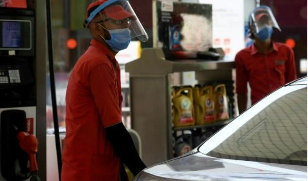 The virus has killed nearly 550,000 people. Photo: AFP
