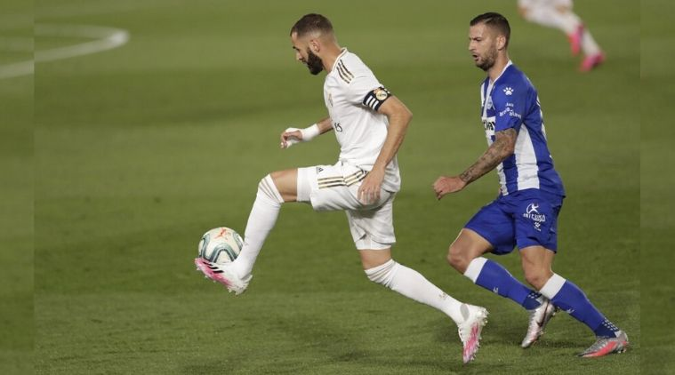 Madrid beats Alavés 2-0 for 8th straight win in title march