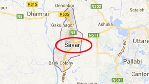 Rapists gang-rape wife tying up her husband in Savar