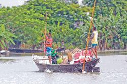 Flood situation worsens in Sylhet, Sunamganj