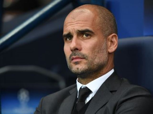 Manchester City's manager Pep Guardiola. Photo: AFP