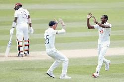 Archer strikes to leave Windies reeling in first England Test