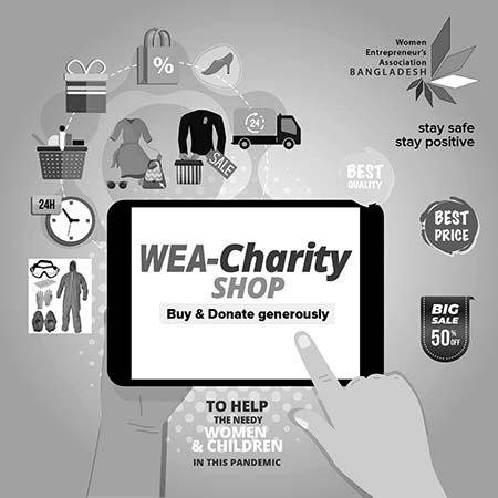 WEA Charity Shop supporting needy artisans with funds