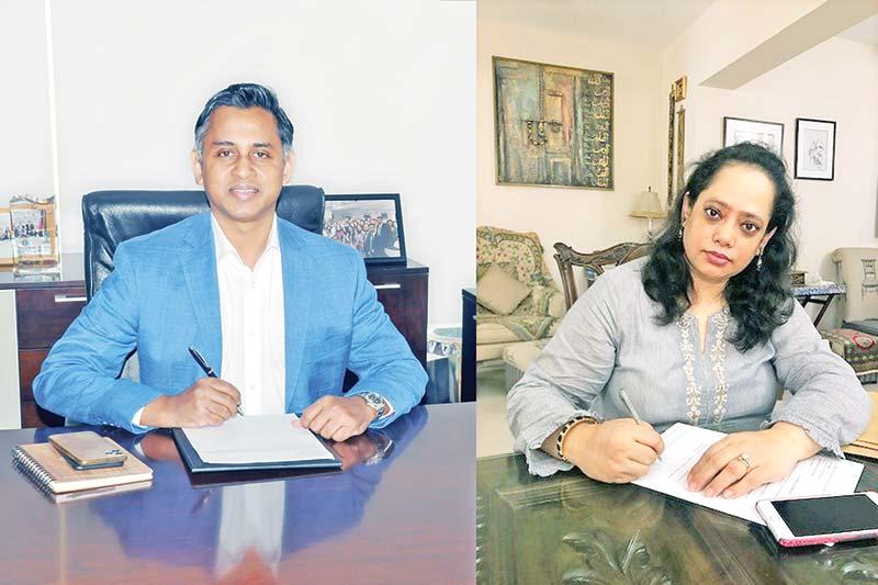 City Bank Additional Managing Director Sheikh Mahammad Maroof and rnInternational Finance Corporation (IFC) Senior Country Officer
