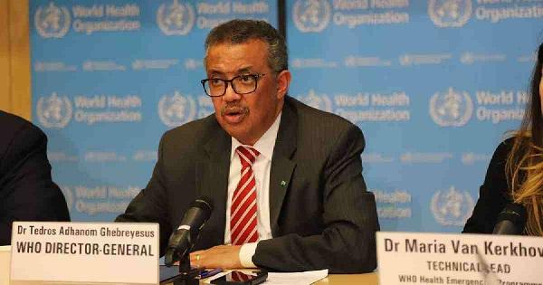 WHO chief Tedros Adhanom Ghebreyesus.File Photo