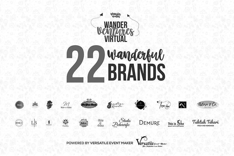 Virtual Wander Ventures 2020 one click away