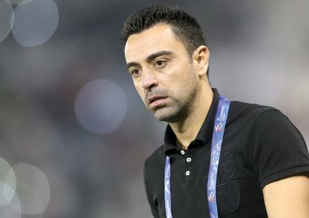 Xavi says coaching Barca remains his 'primary goal'
