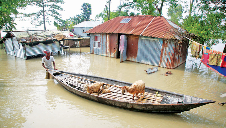 Flood in low-lying areas adjacent to Dhaka city likely to worsen
