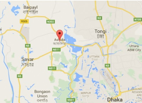 Construction worker killed as wall collapses in Ashulia