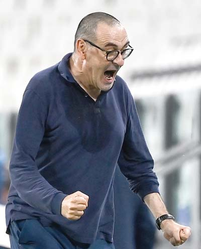 Sarri tempted to field Under-23 team as Juve crash to humiliating defeat