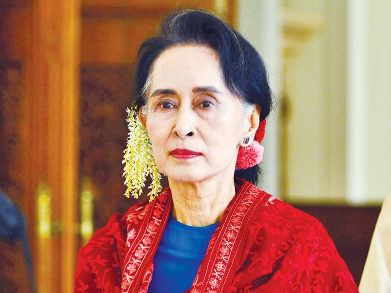 Suu Kyi contesting for second term
