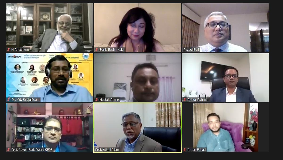 NSU holds webinar on 'Digital Bangladesh: Technology for Covid-19 Response'