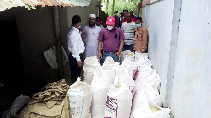 100 sacks VGD rice recovered in Naogaon