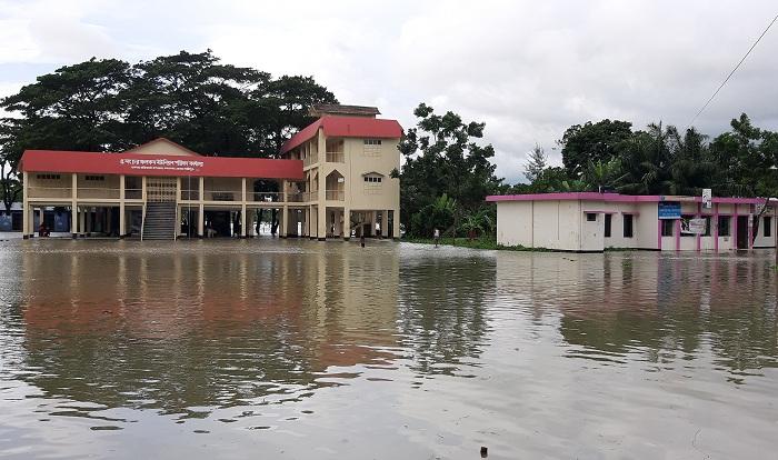 Ramgati-Kamalnagar's low-lying areas flooded by tidal water