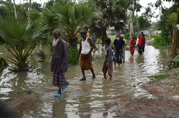 300 families in Kalai marooned by rainy water