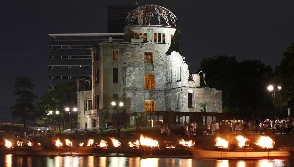 Survivors mark 75th anniversary of U.S. bombing of Hiroshima, which killed 140,000