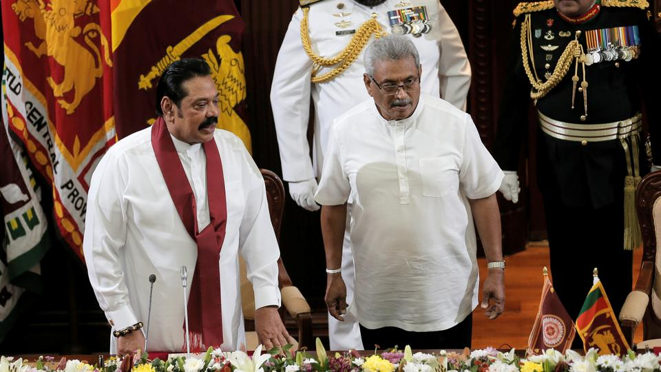 Sri Lanka's Rajapaksa family heads for huge election win