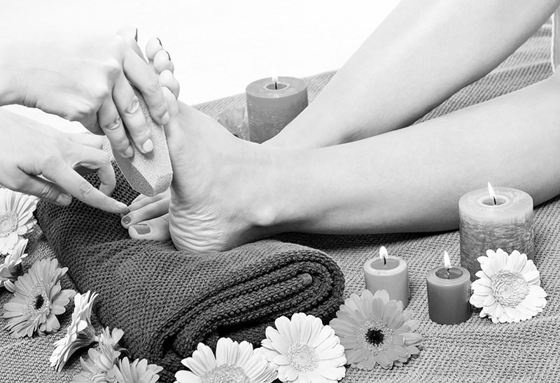 Pedicure at home with ease