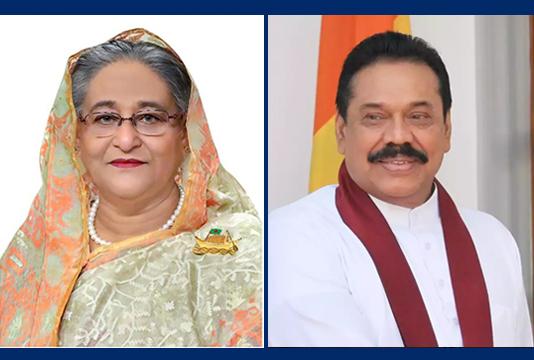 Sheikh Hasina greets Lankan PM on polls victory