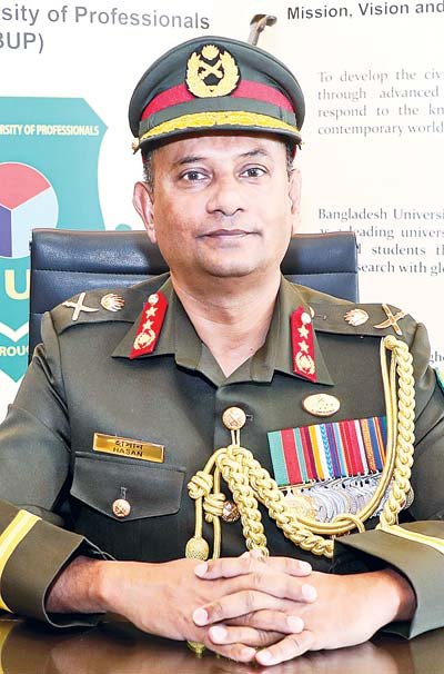 Major General Dr Ataul H S Hasan