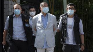 HK pro-democracy tycoon Jimmy Lai held