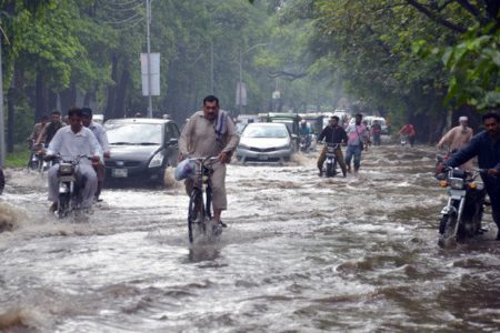 64 killed in 3-day monsoon rain spells across Pakistan