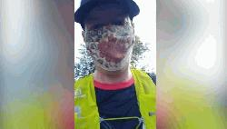 Doctor runs 22 miles in a face mask to prove that they are safe