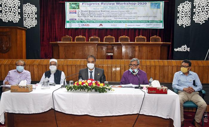 BARI holds workshop on Biotechnology Potato Partnership Project