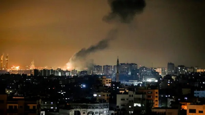 Israel launches fresh strikes on Hamas targets in Gaza Strip