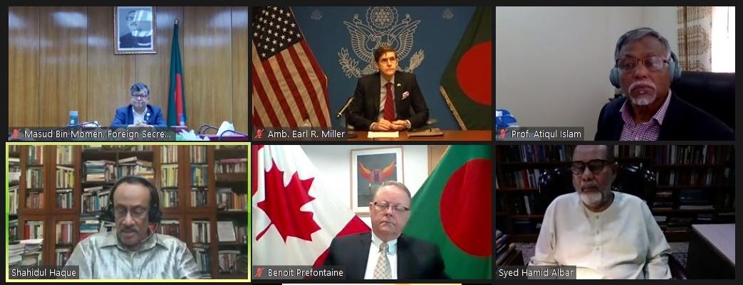 NSU holds webinar on Rohingya Crisis