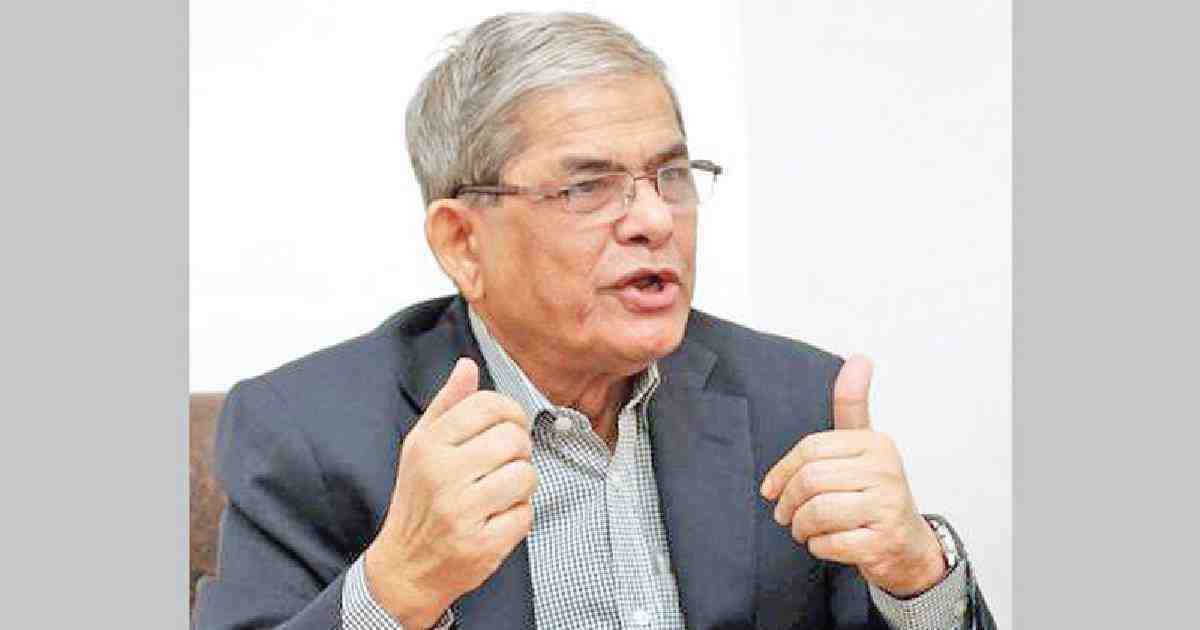 Freeing Khaleda BNP's prime task: Fakhrul